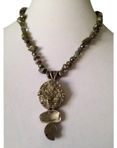 Embellished by Leecia Pyrite Necklace Only! Matching Pieces Sold Seperately