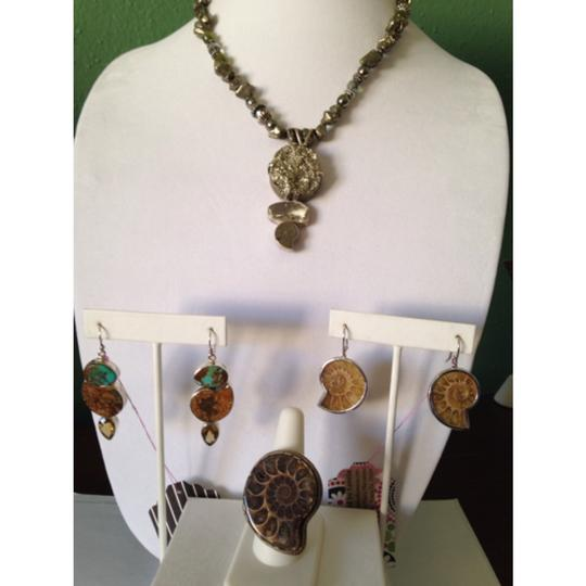 Other Embellished by Leecia Pyrite Necklace Only! Matching Pieces Sold Seperately