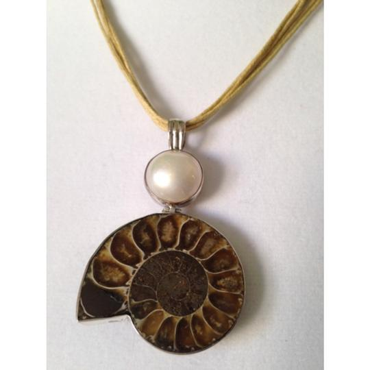 My Closet- Embellished by Leecia Embellished by Leecia Ammonite Pendant Only! Matching Pieces Sold Seperately.
