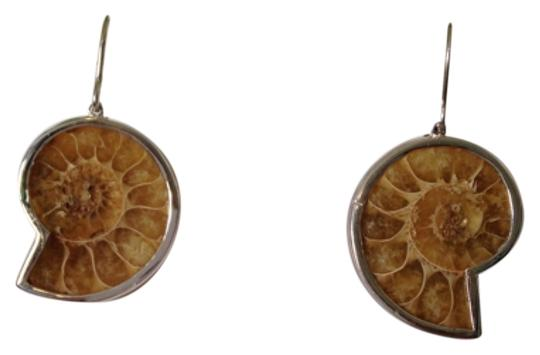 Other Embellished by Leecia Ammonite Earrings