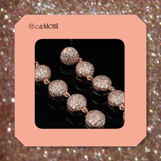 Other TODAY ONLY New Micro Pave Austrian Crystal CZ Rose Gold