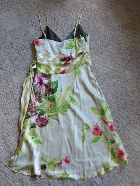 Other Silk Floral Party Wedding Dress