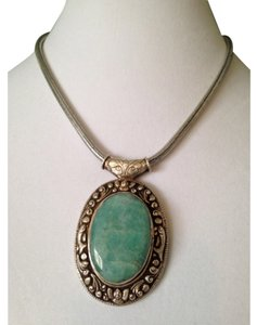 Other Embellished by Leecia Amazonite Necklace