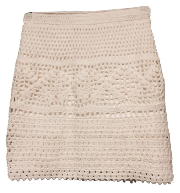 Pins and Needles Skirt Ivory