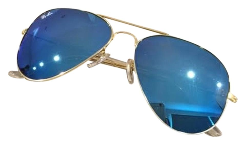 a1d31ee767f2a Ray-Ban Blue Aviator Large Metal Matte Rb 3025 112 19 (Cal.58mm) New ...