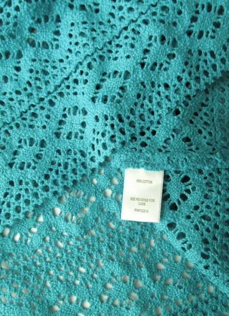 Garnet Hill Crocheted Cap Sleeves New Without Tags Tunic