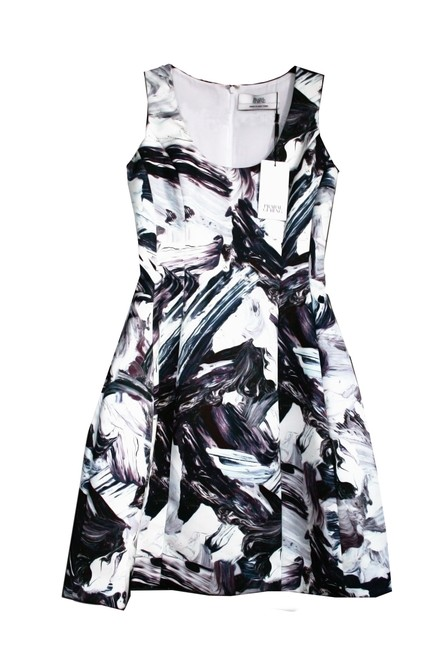 Prabal Gurung Print Paint Splatter Dress