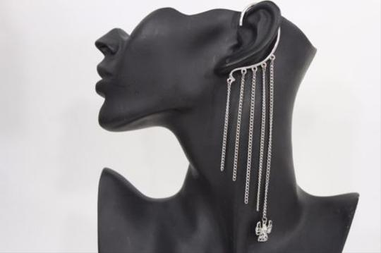 Other Women Metal Tassels Ear Cuff Earring Fashion Silver Fringe Thin Chains Angle