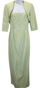 Carmen Marc Valvo Embellished 2-pc. Foam Green Dress