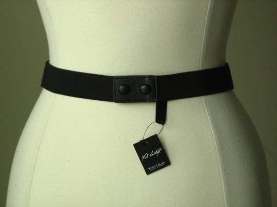 White House | Black Market New with tags black and white skinny stretch belt size XL