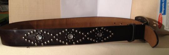Guess Guess Belt with studs and rhinestones buckle - sz. m - stylish