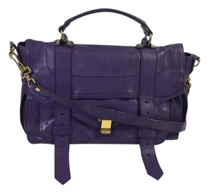 Proenza Schouler Satchel in Purple