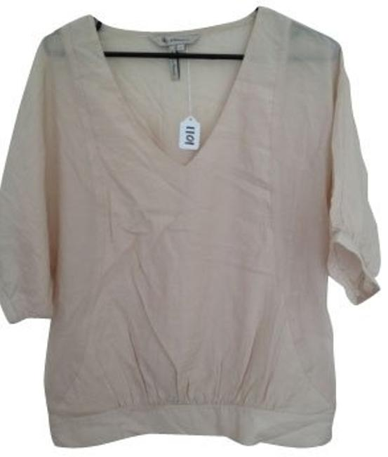 Preload https://item3.tradesy.com/images/bcbgeneration-pale-pinknude-blouse-size-4-s-452-0-0.jpg?width=400&height=650