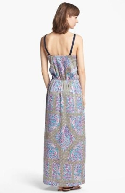 Multi-Color Maxi Dress by Juicy Couture Womens Imperial Starflower Multi Pattern Maxi Maxi