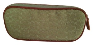 Coach Green Coach sunglasses case