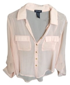 About A Girl Top Light Coral