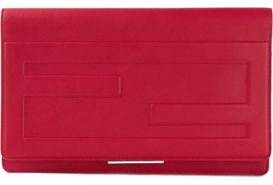 ba6c7b41145 Red Fendi Clutches - Over 70% off at Tradesy