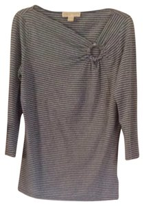 Michael by Michael Kors T Shirt Gray & Blue