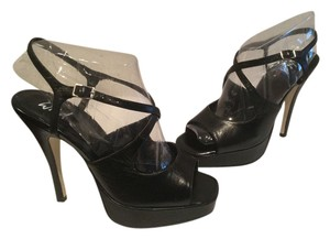 Wild Pair Black Platforms