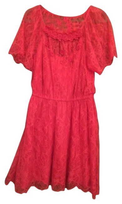 Preload https://item5.tradesy.com/images/free-people-dress-coral-4521364-0-0.jpg?width=400&height=650