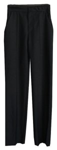 Balenciaga Wide Leg Pants Black