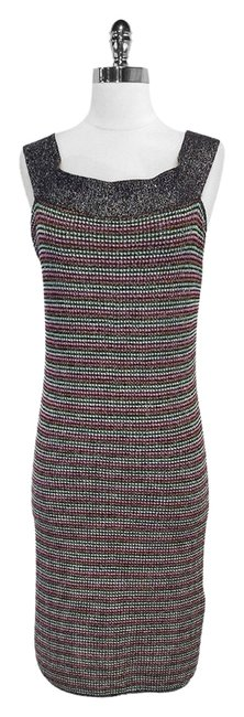 Preload https://item3.tradesy.com/images/missoni-multi-color-lurex-sleeveless-high-low-short-casual-dress-size-10-m-4522057-0-0.jpg?width=400&height=650