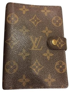 Louis Vuitton Louis Vuitton Monogram Small Ring Agenda Cover (PM)
