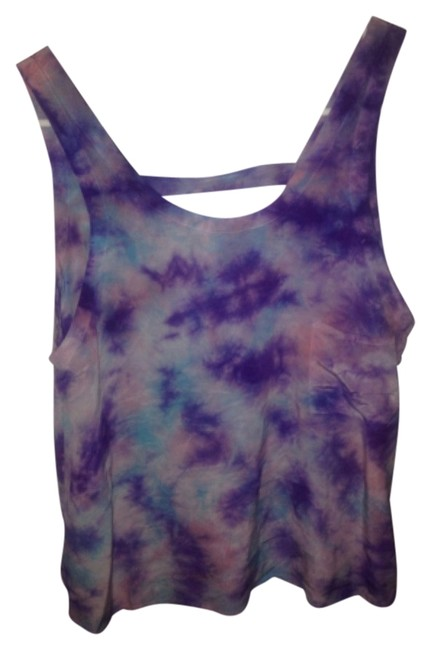 Chaser Top Blue and purple