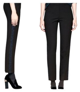 Tory Burch Trouser Pants Black/blue