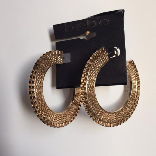 Guess New with Tags! Chain-link Hoop Earrings