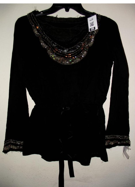 Other Summer Theatre Costume Peasant New Top Black