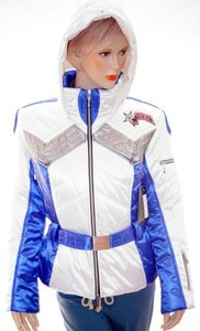 Mdc Doris Pfister Womens White Jacket