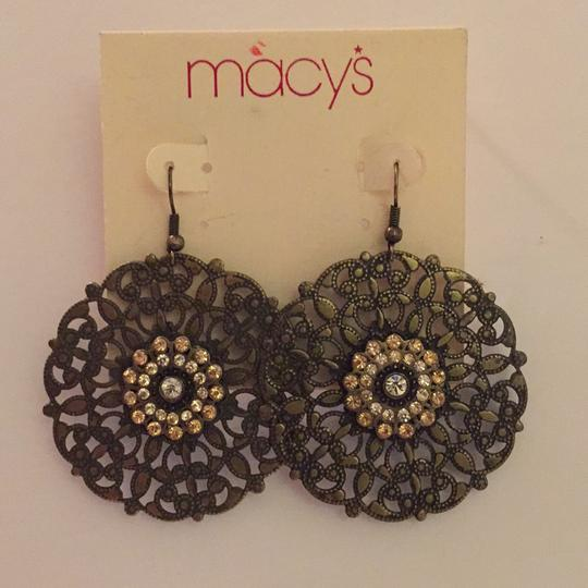 Macy's New with Tags! Vintage Earrings