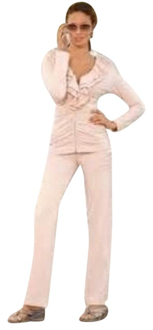 Preload https://item4.tradesy.com/images/boston-proper-taupe-ruffle-2-pc-warmup-suit-activewear-sportswear-size-4-s-27-4539808-0-4.jpg?width=400&height=650