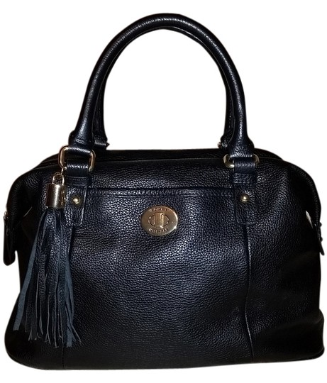 Preload https://item1.tradesy.com/images/tommy-hilfiger-black-faux-leather-satchel-4540150-0-0.jpg?width=440&height=440