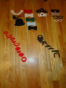 Other Photobooth Props (Variety Of 29) Reception Decoration