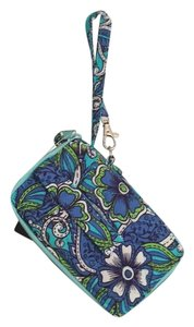 Nicole Wristlet in Blue, Green, White