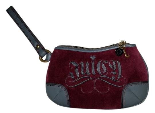 Preload https://item1.tradesy.com/images/juicy-couture-pink-and-gray-velveteen-wristlet-4544710-0-0.jpg?width=440&height=440