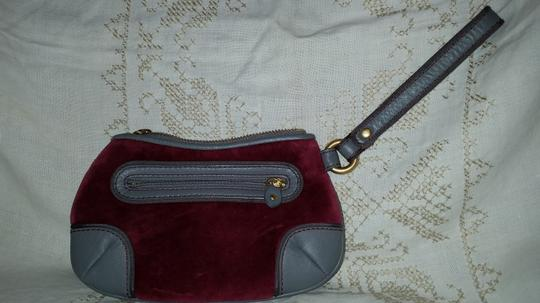 Juicy Couture Wristlet in Pink and gray