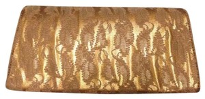 deux lux Gold Clutch