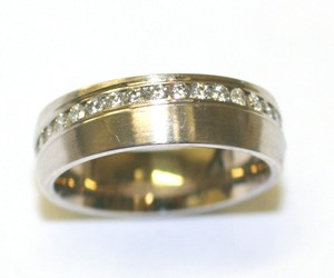 Flat Finish Eternity Band