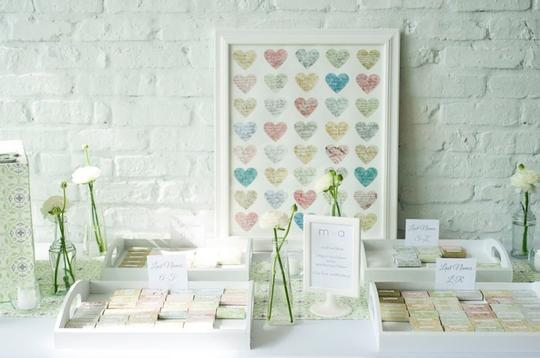 Green Tablesquares/Runners Reception Decoration