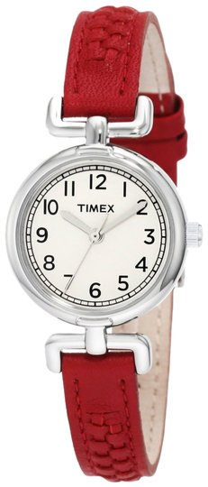 Timex Timex T2N661 Women's Silver Analog Watch With Black Dial