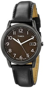 Timex Timex T2N947 Men's Black Analog Watch With Black Dial