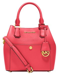 Michael Kors Satchel in watermelon/lugg/gold