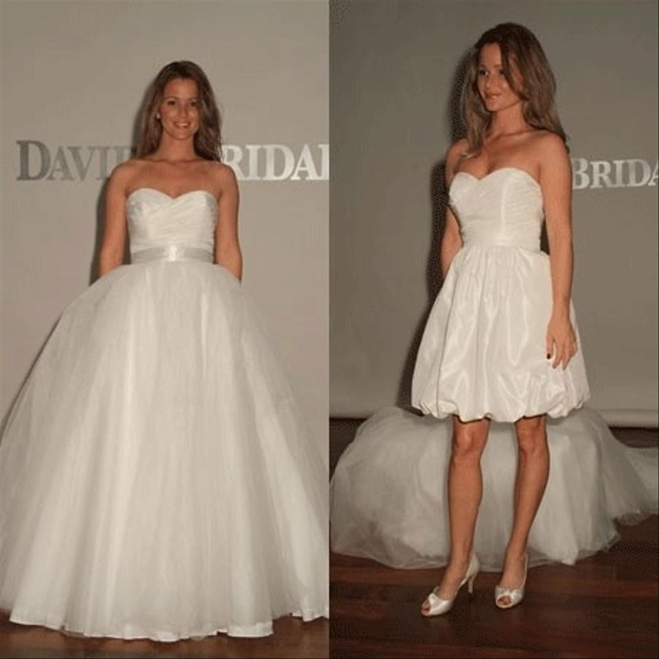 David 39 S Bridal Two In One Sweetheart Organza Kp3265