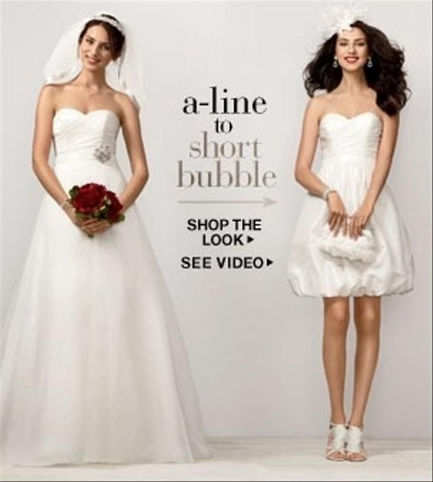 David S Bridal Wedding Gowns: David's Bridal Two In One Sweetheart Organza Kp3265