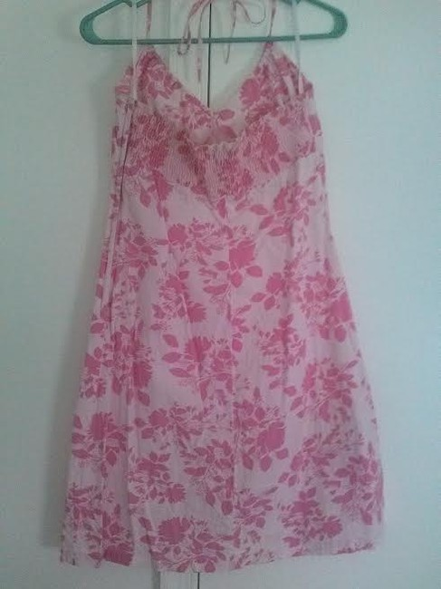 H&M short dress Pink and White on Tradesy