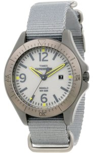 Timex Timex T49931 Mens Grey Analog Watch With Gray Dial
