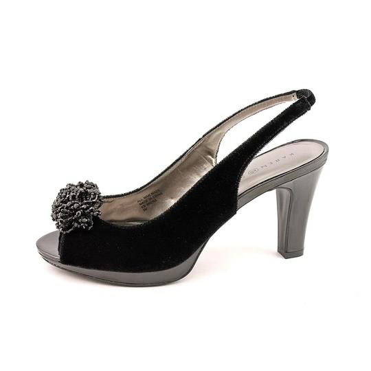 Karen Scott Slingbacks. Open Toe Pumps Louboutin black Platforms